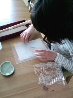 """""""今日は1日娘の手作りWork!(b^ー°)"""""""
