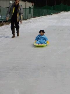 """""""孫と雪(ゆ)くスノーパーク(o^∀^o)♪"""""""