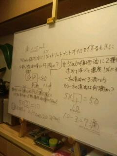"""""""アロマテラピーアドバイザー授業より*。゜。"""""""