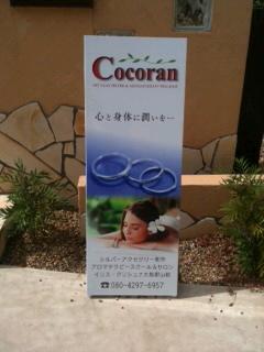 """""""『Cocoran』看板*。゜。"""""""